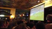 شادی احساسی هواداران چلسی پس از گل به بایرن مونیخ