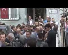 بازدید احمدی نژاد از منزل امام خمینی در شهر بورسا