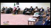 دیدار رئیسجمهور و اعضای هیأت دولت با رهبر انقلاب