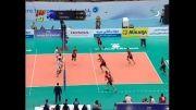خلاصه ست دوم والیبال ایران و آلمان (بازی رفت - لیگ جهانی)