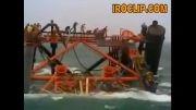 سقوط سکوی نفتی ایران