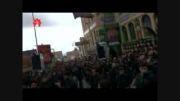 عزاداری هییت محله قاضی در حسینیه محله درویش