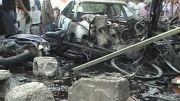 تصاویری از انفجار دیروز عراق 61 کشته برجای گذاشت