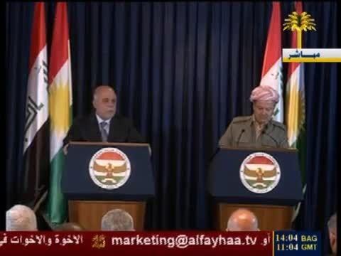 زیارة حیدر العبادی الی اقلیم كردستان