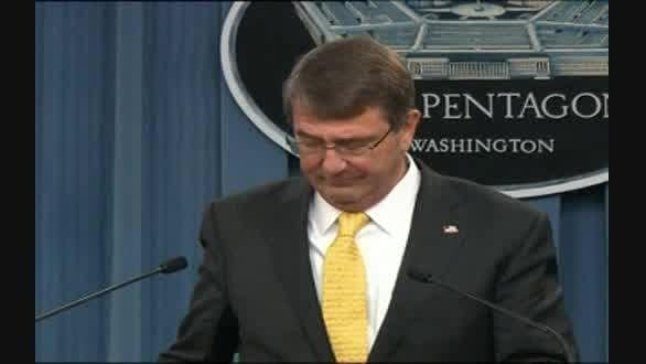 وزیر دفاع آمریکا:آموزش نخستین گروه.....