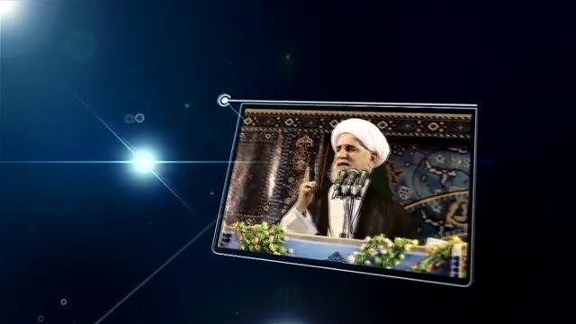 سخنرانی کوبنده امام جمعه اهواز و عصبانیت فتنه گران