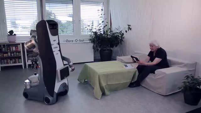 ساخت ربات مخصوص سالمندان