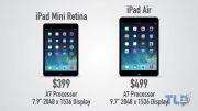 مقایسه آیپد مینی رتینا و آیپد ایرiPadAir vs iPad Mini Retina