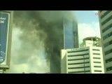 آتش سوزی ساختمان ۴۲ طبقه در استانبول