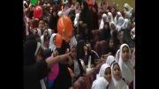 روز جهانی کودک و غنچه های هلال احمر