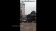 عاقبت فرار موتورسوار از دست پلیس(دزد خر و احمق)