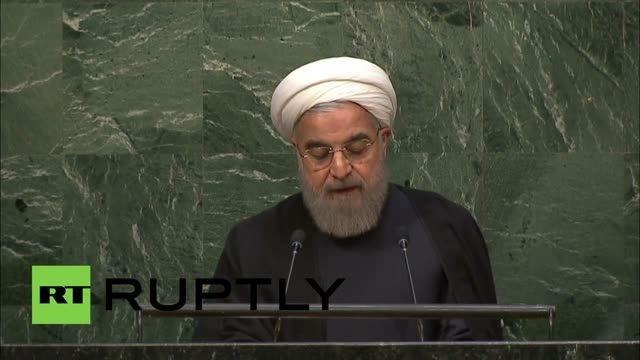 سخنرانی دکتر روحانی در سازمان ملل