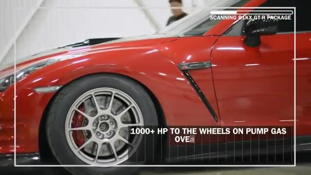 خودروی GTR با 1400 اسب بخار