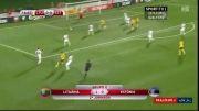 گل بازی لیتوانی 1 - استونی 0 (مقدماتی یورو 2016)