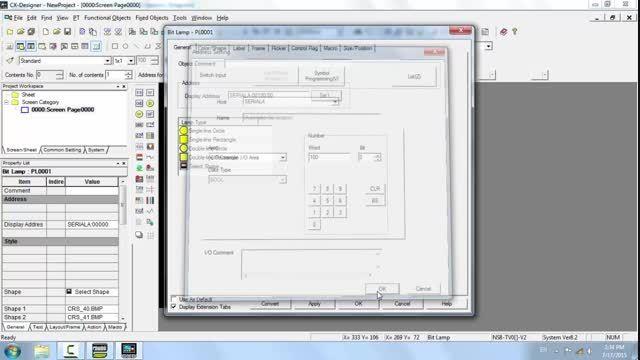نحوه ارتباط HMI به PLC امرن از طریق سیمولاتور