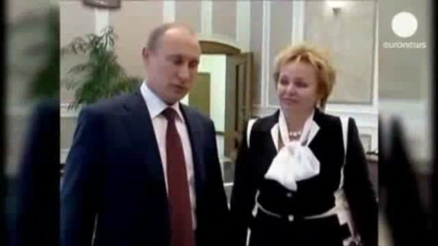 جدایی ولادیمیر پوتین از همسرش