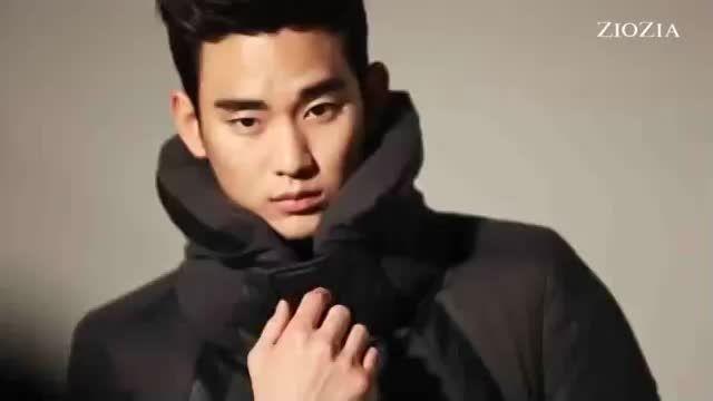 تبلیغ زیبای کیم سو هیون برای لباس زمستانی