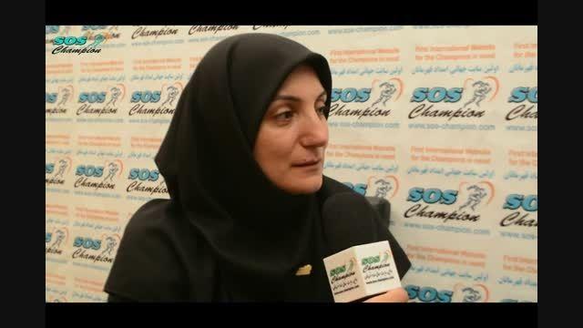 دختر یخی ایران