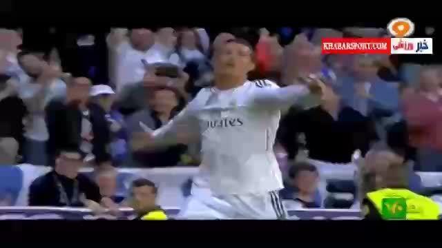 درخشش بی نظیر رونالدو در بازی رئال مادرید - گرانادا