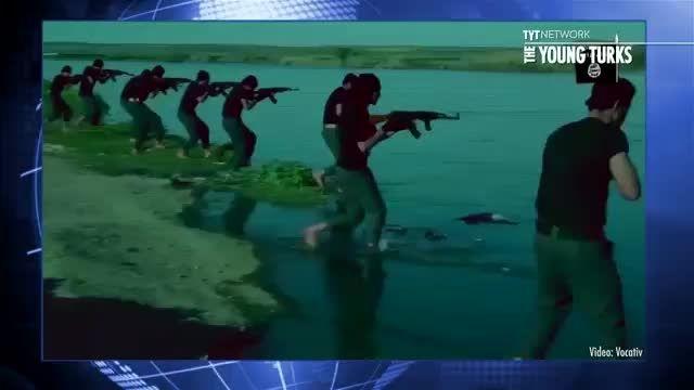 مسخره کردن تمرینات نظامی داعش