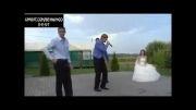 رقص جالب در مراسم عروسی :)