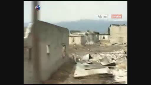 پاکسازی مناطقی از حماه در سوریه