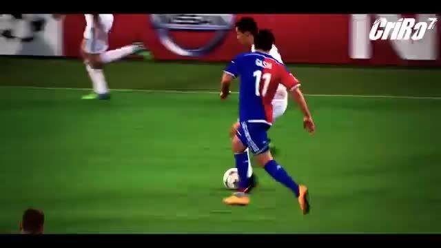 کریستیانو رونالدو نابغه فوتبال (حرکات دیوانه کننده CR7)