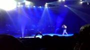 اجرای آهنگ من و بارون در پایان کنسرت بابک جهانبخش 13اردیبهشت92-برج میلاد تهران  babak jahanbakhsh concert