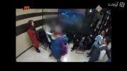 روبوسی بهنوش بختیاری با دختران ایدزی
