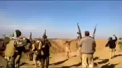 کمین نیروهای امنیتی علیه داعش