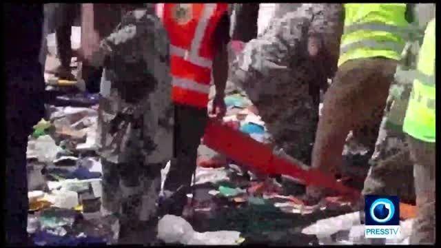 310 کشته در مناسک حج در منا؛12 ایرانی در میان قربانیان