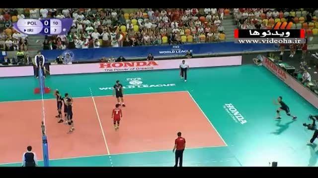 لهستان ۳-۱ ایران؛ لیگ جهانی والیبال ۲۰۱۵