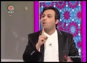 هنر نمایی عالی مجری شبکه جام جم در مقابل بازیگران مشهور