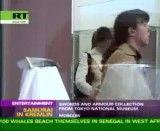 کاتانای اصل ژاپن در کاخ کرملین روسیه