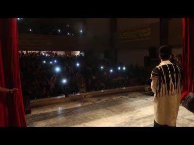 اولین کنسرت رپ در ایران ( پویان مختاری) اجرای آهنگ سیچه