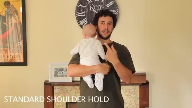 مدلهای مختلف بغل کردن بچه