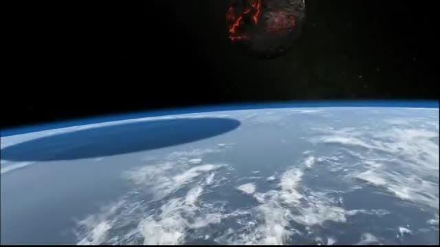 شبیه سازی برخورد یک سیارک با زمین