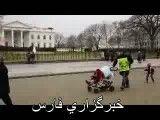 فیلم تظاهرات مردم آمریکا در واشنگتن در حمایت از ایران