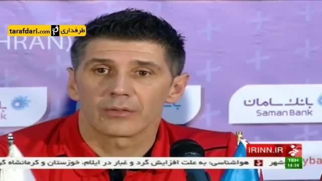 پیش بازی والیبال ایران و لهستان