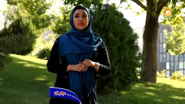الهام شهبازی یکی از مجریان صدای تهران
