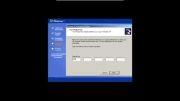نحوه ی نصب ویندوز ایکس پی در شبکه مجازی