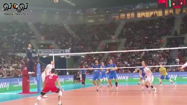 شاهکار نهایی تیم ملی والیبال فرانسه در فینال