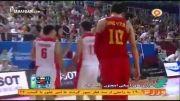 بازی های آسیایی (بسکتبال)؛ خلاصه بازی ایران 75-67 چین