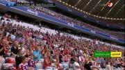 گل های بازی بایرن مونیخ 3 - 3 منچستر یونایتد (پیشکسوتان