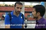 مصاحبه با بازیکنان والیبال