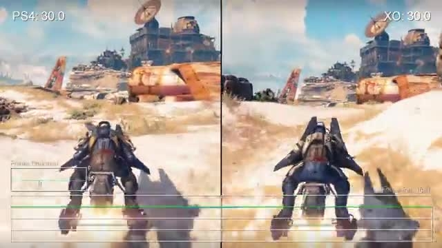 Destiny_ PS4 vs Xbox One Frame-Rate Test mp4