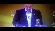 صحبت  انگلیش کفاشیان هنگام گرفتن کاپ بهترین فدراسیون آسیا..