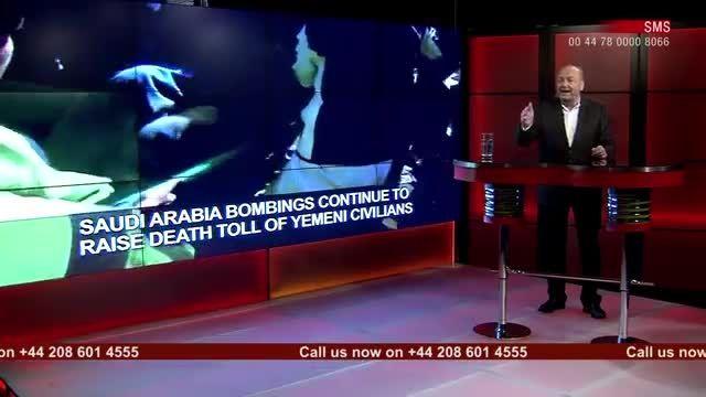 تحلیل جورج گلووی از حمله سعودی ها به مردم مظلوم یمن