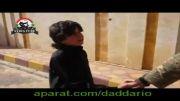 تعهد کودک سوری مبنی بر منفجر شدن به تروریست تونسی داعش