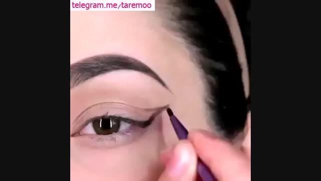 آرایش چشم ،آموزش آرایش چشم در تارمو